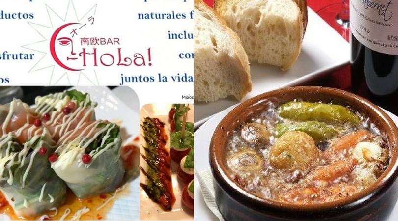 こいこい松原出店スペイン料理南欧BARオーラアヒージョ